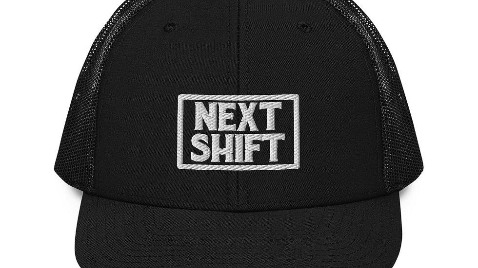 Next Shift Badge Mesh Snapback - Black