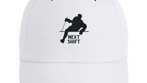 Next Shift Performance Hat - White