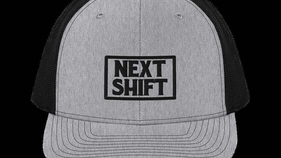 The Next Shift Badge Mesh Snapback - Grey