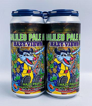 Galileo Pale Ale HAZY VIEWS 5.8%ABV