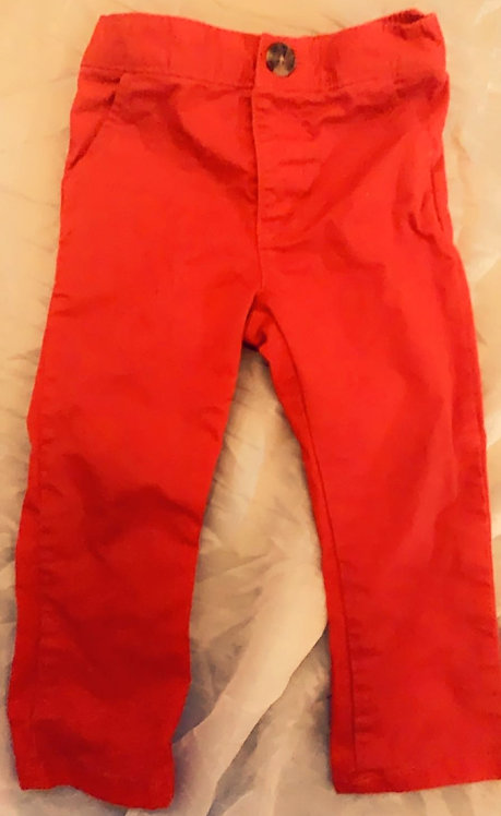 18-24 months Red Pant