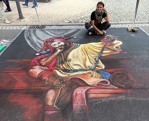 Neustädter Street Art Festival bei Marbu