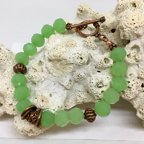 The Kelly Green Bracelet