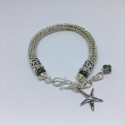 The Silver Star Bracelet  SOLD