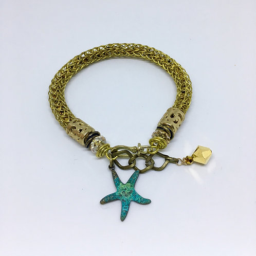 The Gold Slinky Bracelet