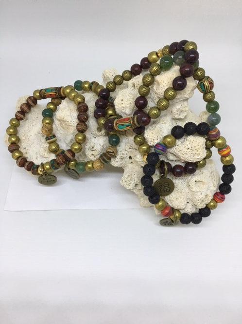 Ethnic Stretch Bracelets