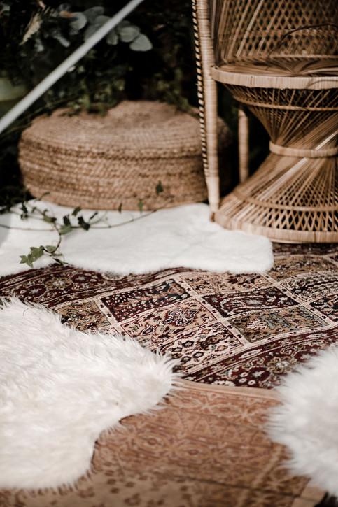 Boho rug selection