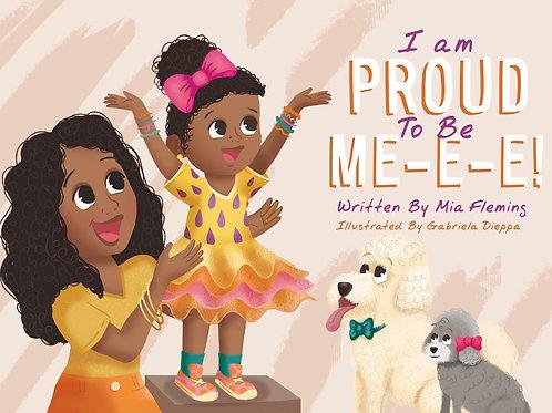 I Am Proud To Be Me-e-e Book