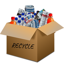 recycle box Order in the House Israel.pn