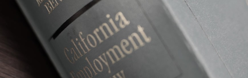 California Employment Law Updates