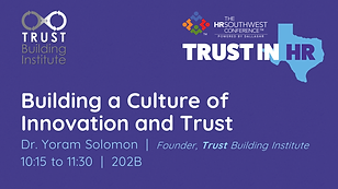 HRSWC 2019 Solomon Building a Culture of