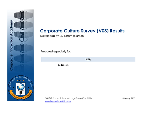 Corporate Culture for Creativity (CCC)