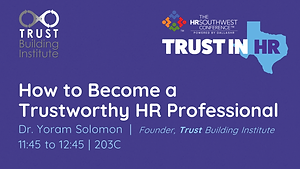 HRSWC 2019 Solomon How to Become a Trust