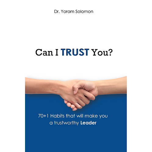 Can I Trust You? 70+1 Habits for LEADERS