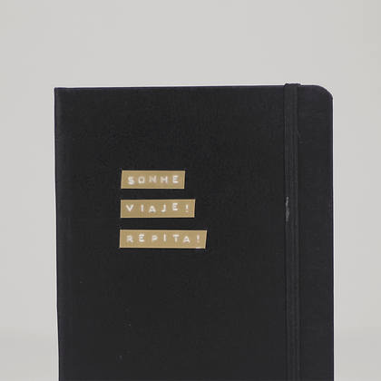 Caderno - Sonhe e Viaje