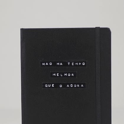 Caderno - Frase o agora