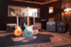 studio4, recording studio dublin, rehearsal room, equipment, backline, guitar, amplifier, FOH engineer