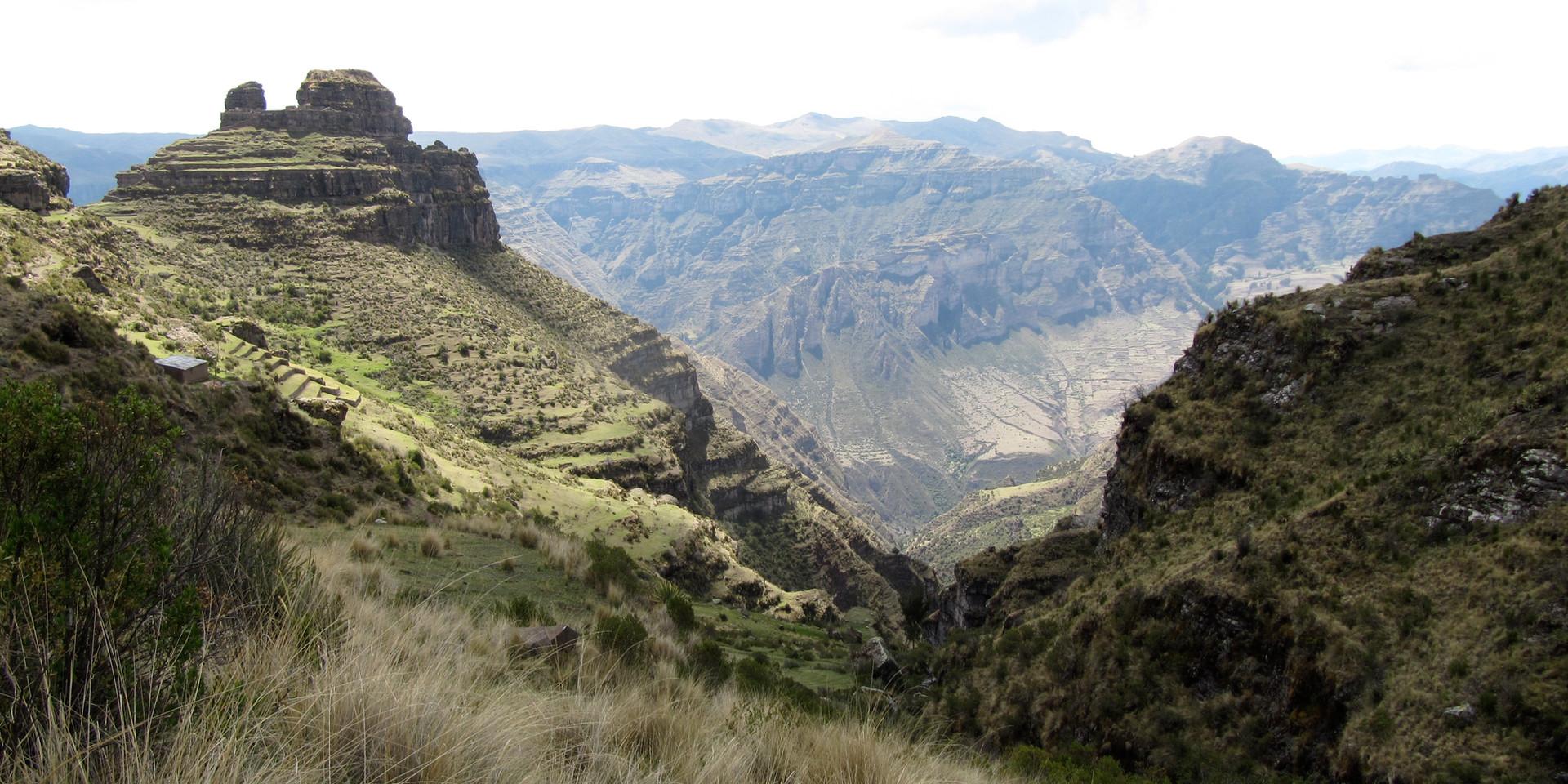Waqrapukara Peru