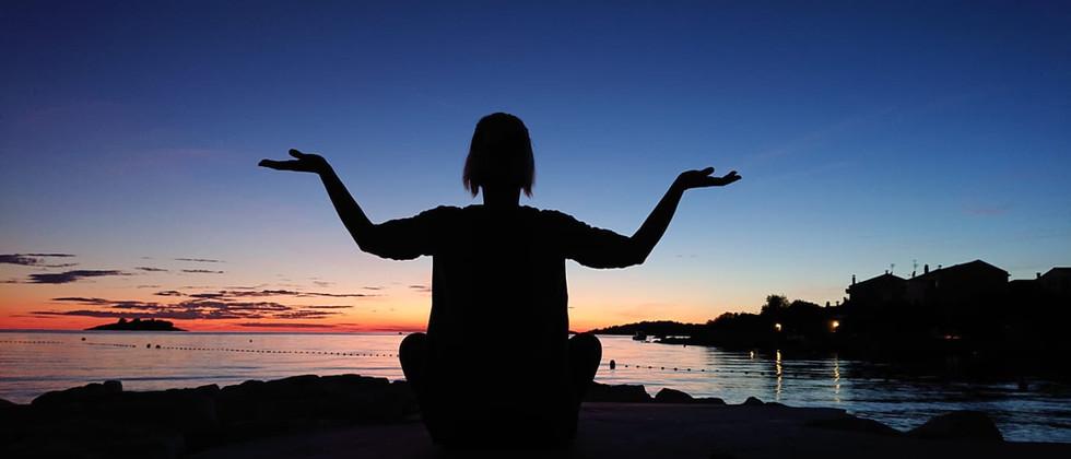 Retreat Croatia - Sunset Meditaion