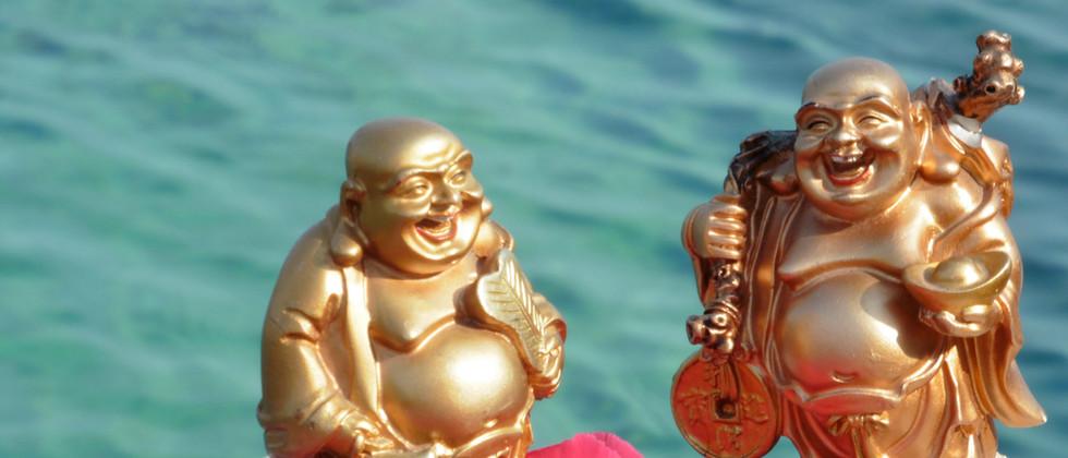 Retreat Croatia - Laughing buddhas