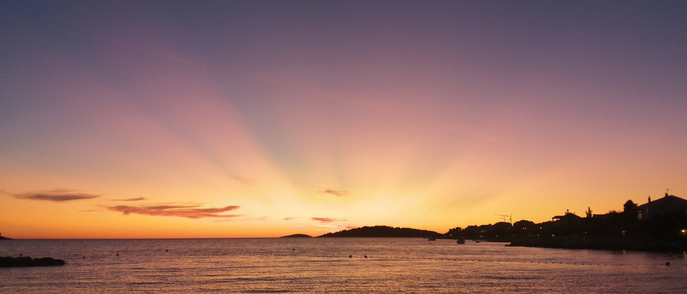 Retreat Croatia - Sunset