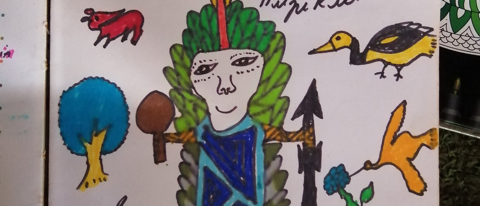 Txana Huni Kuin Painting