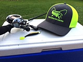 Charcoal/Neon Green Flex Fit Trucker Cap