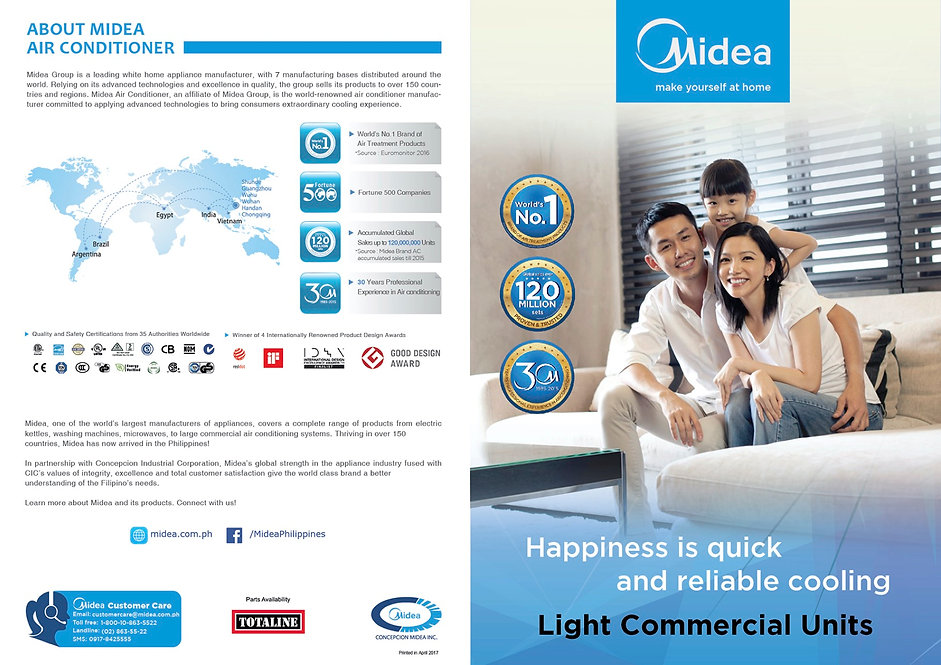 Midea11 Light Commercial (Fixed Speed an