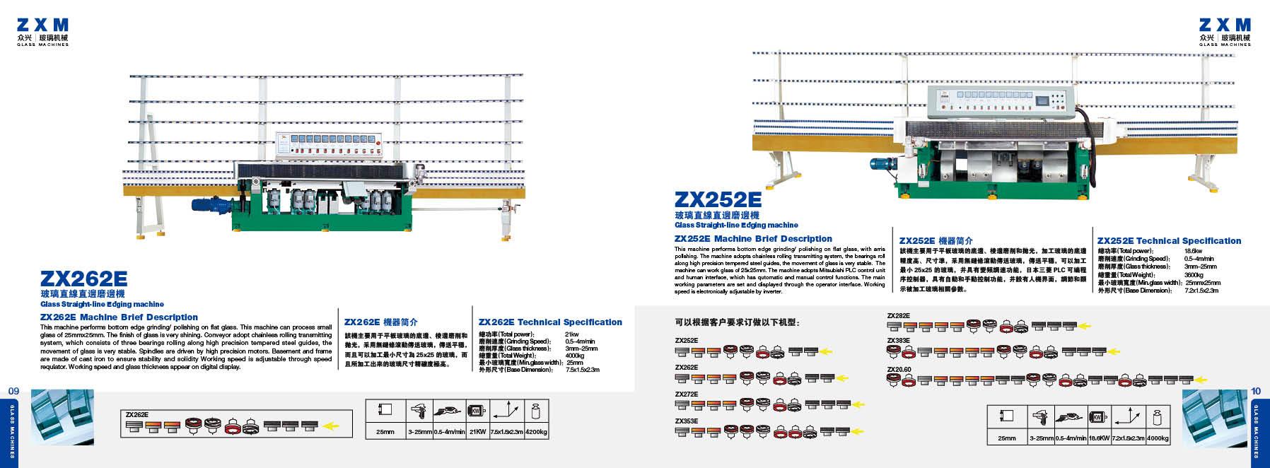 Maszyny szklarskie ZXM 08