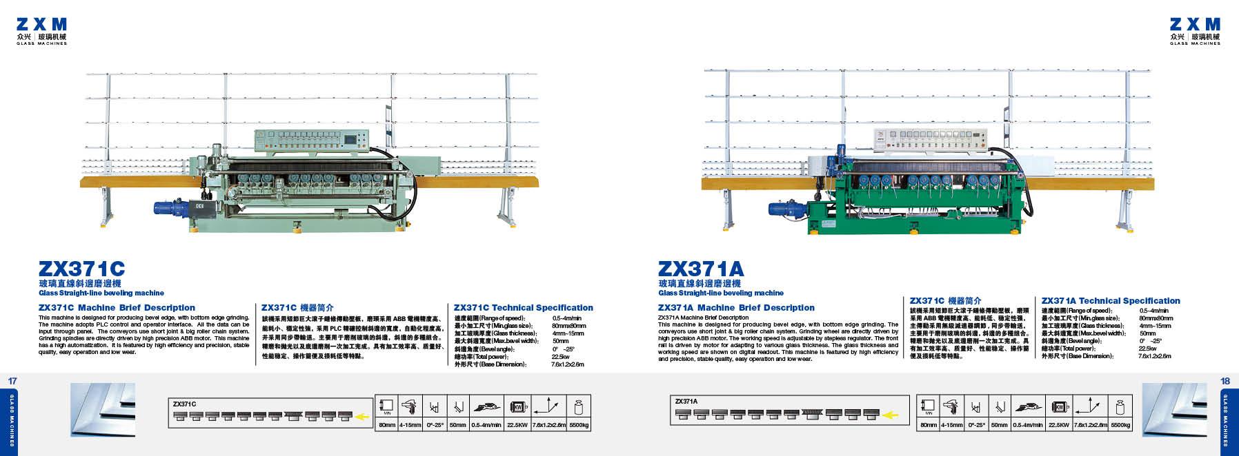 Maszyny szklarskie ZXM 12