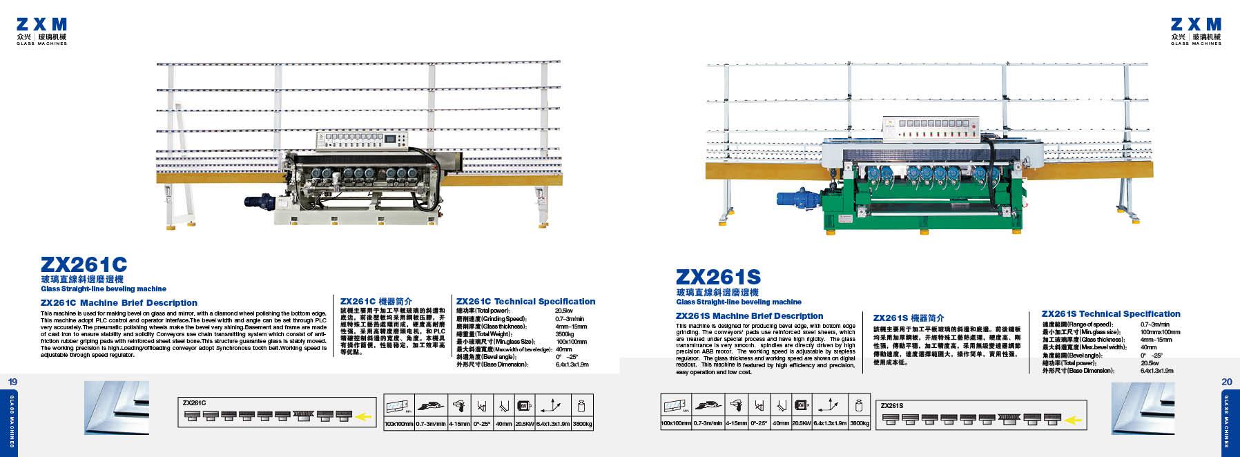 Maszyny szklarskie ZXM 13