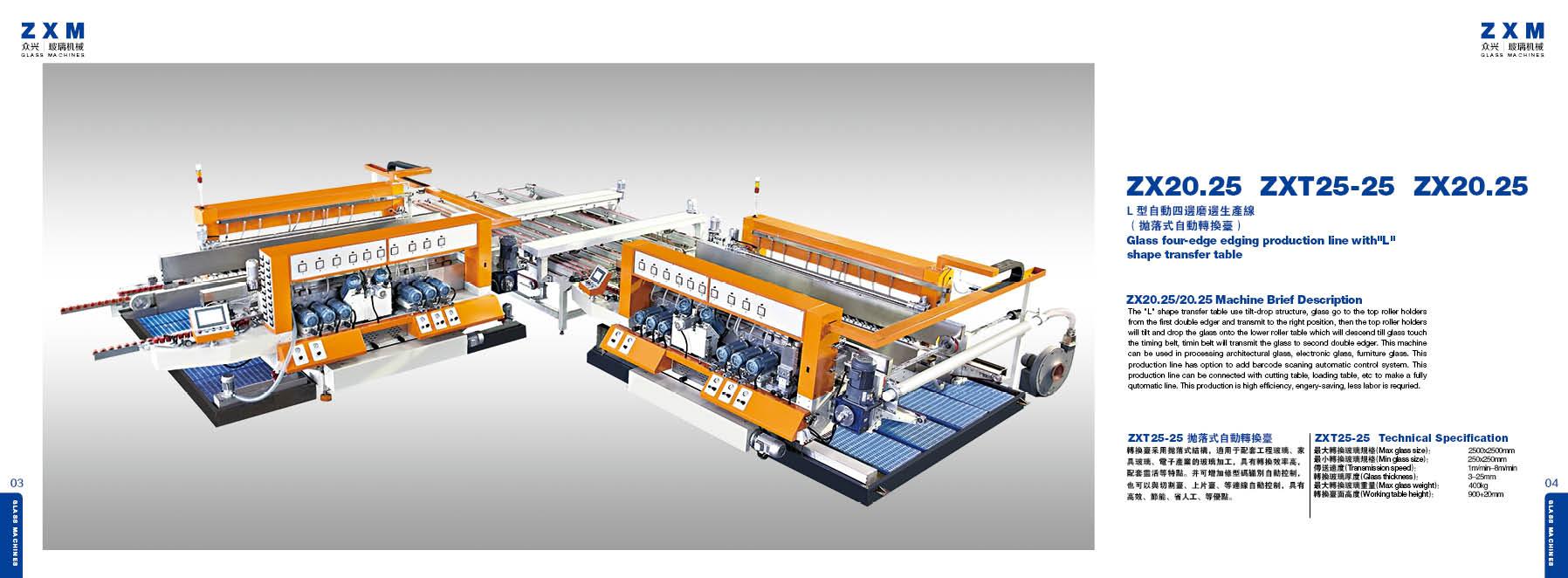 Maszyny szklarskie ZXM 05