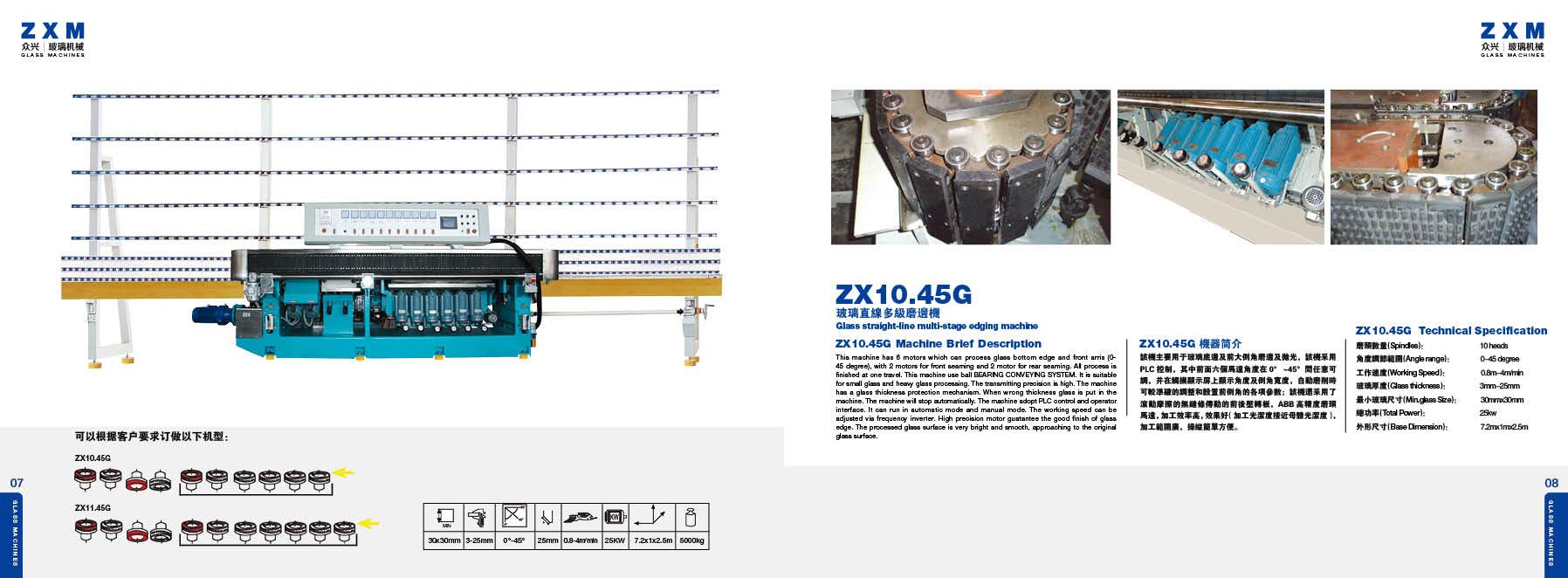Maszyny szklarskie ZXM 07