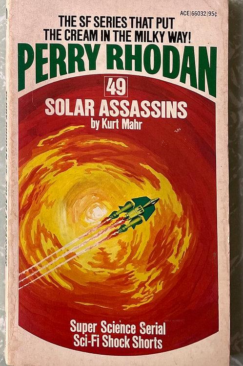 Solar Assassins - Perry Rhodan Number 49