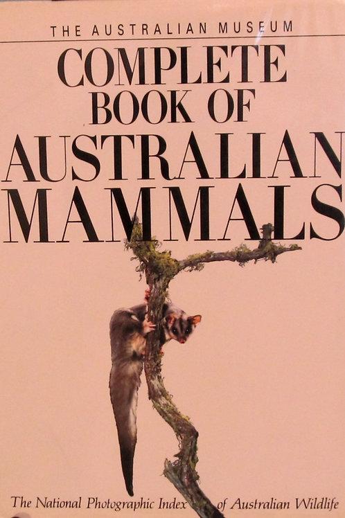 The Complete Book Of Australian Mammals
