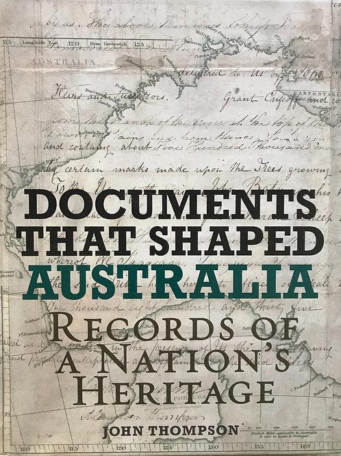 Documents that Shaped Australia