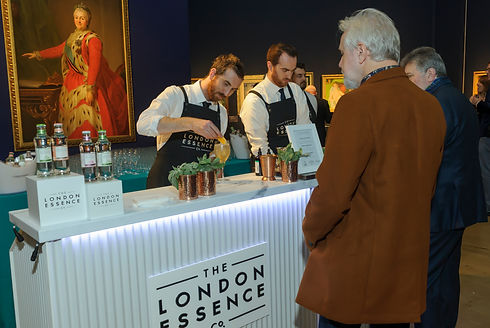 Bartenders at a Pop Up Event in London