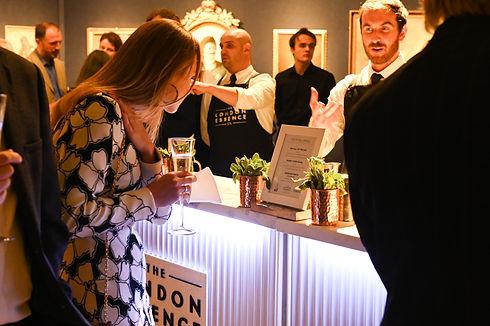 Bartenders working at London Cocktail Week