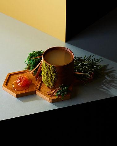 Creative Cocktail in Unique Glassware