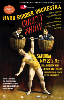 HRO Variety Show Poster