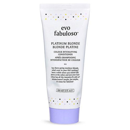 evo fabuloso Colour Boosting Conditioner/Treatment - Platinum Blonde 220ml