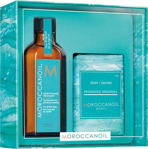 Moroccan Oil Treatment Original 100ml inc FREE soap