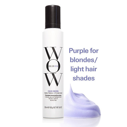 Color WOW Color Control Toning and Styling Foam - Blonde 200ml