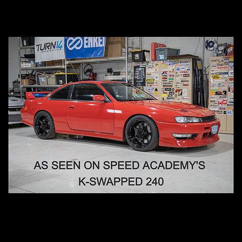 C4M Ultimate Nissan Silvia/240sx/180sx/Z32 300zx Front & Rear Big Brake Kits