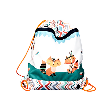 Kindergarten-TurnbeutelIndian Foxes