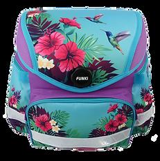 Schulrucksack mit ergonomischem Rückenck