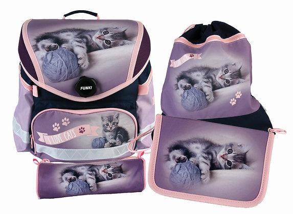 Funny-Bag Cats