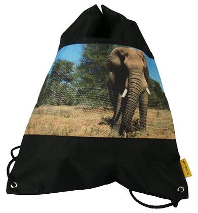 Turnbeutel Elefant