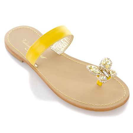 Handmade Sandals Swarovski Crystals