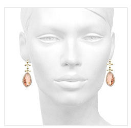 Caramel Gold 18k plated Earrings